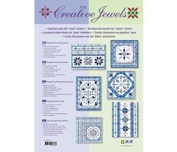 Sticker Tarjeta creativa Creative conjunto Joyas