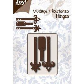 Joy!Crafts / Jeanine´s Art, Hobby Solutions Dies /  Stanz- und Prägeschablone: Scharniere