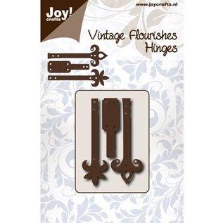 Joy!Crafts / Jeanine´s Art, Hobby Solutions Dies /  Ponsen en embossing sjabloon: Scharnieren
