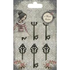 Dekorationer: key, Santoro Mirabelle