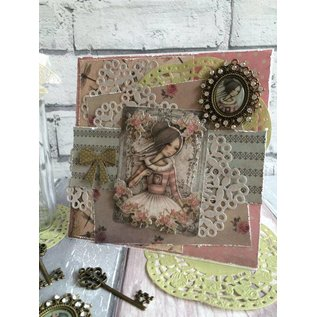 Embellishments / Verzierungen Embellishments: Schlüssel, Santoro Mirabelle