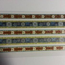 Sticker adhesiva brillo Tela Ribetes