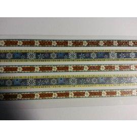 STICKER / AUTOCOLLANT Glitter Stoffbordüren selbstklebend