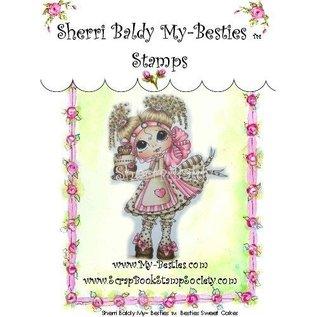 """My BESTIES My-Besties """"Sherri Baldy"""" transparante stempels"""