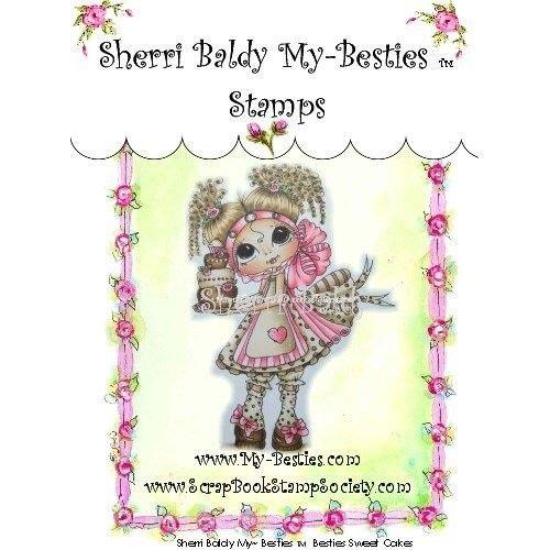 """My BESTIES My-Besties """"Sherri Baldy"""" transparent stamps"""