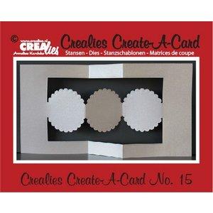 Stempel / Stamp: Transparent Crealies Opret en kort nr. 15 for hulkort