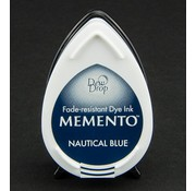 FARBE / STEMPELKISSEN MEMENTO dewdrops stamp ink InkPad-Nautical Blue