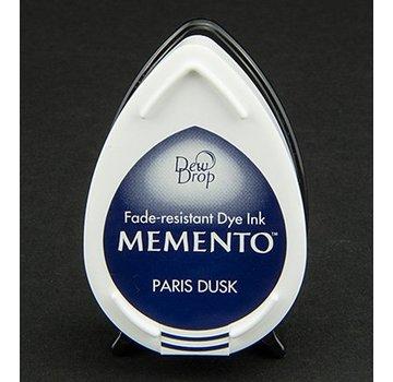 MEMENTO dewdrops stamp ink InkPad-Paris Dusk