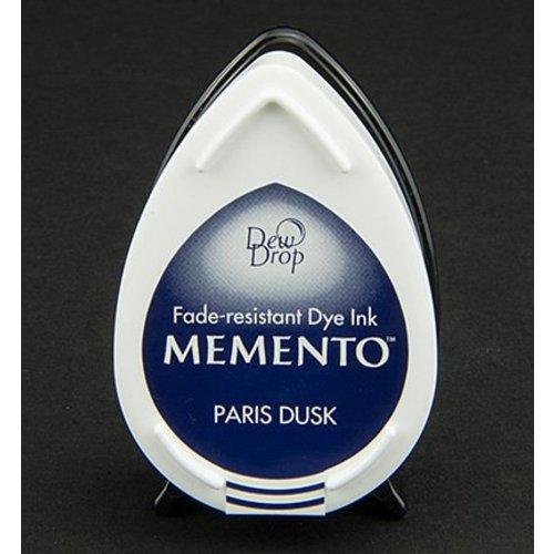 dewdrops MEMENTO timbre encre InkPad-Paris Crépuscule