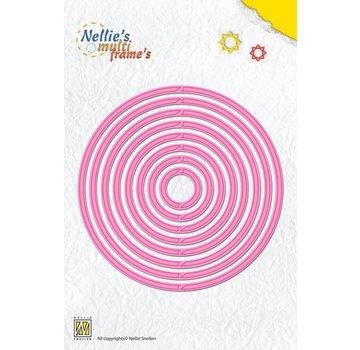 Nellie Snellen Stanz- und Prägeschablone: Multi Schablone Runde