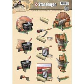 Bilder, 3D Bilder und ausgestanzte Teile usw... láminas troqueladas, diseños de los hombres