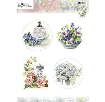 Studio Light A4 broadsheet, tema: giardinaggio e fiori