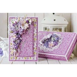 Marianne Design Mini-fleurettes, couleur lavande foncé