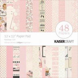 Kaisercraft und K&Company Bloque diseñador, Peekaboo, la niña