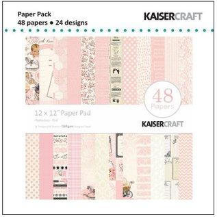 Kaisercraft und K&Company Designer Block, Peekaboo, Baby Girl