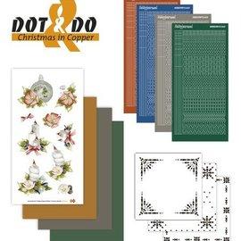 Sticker Bastelset para el diseño de cartas para 4 entradas