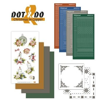 Sticker Bastelset zur Karten Gestaltung für 4 Karten