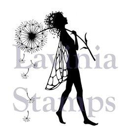 """Stempel / Stamp: Transparent timbro trasparente: Elfe """"Make a Wish"""""""