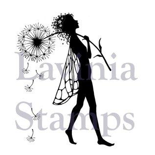 "Stempel / Stamp: Transparent Transparant stempel: Elfe ""Make a Wish"""