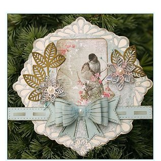 CREATIVE EXPRESSIONS und COUTURE CREATIONS Snijmallen, Sjablonen om 3D-bloemen te maken - LETZE Op voorraad!