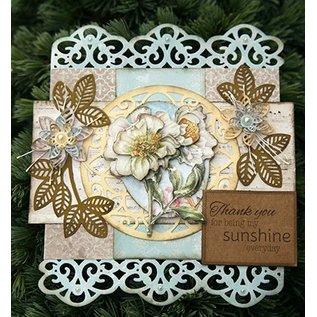 CREATIVE EXPRESSIONS und COUTURE CREATIONS Stanzschablonen,  um 3D Blumen zu gestalten - LETZE Vorrätig!
