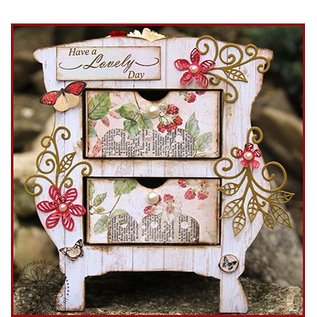 CREATIVE EXPRESSIONS und COUTURE CREATIONS Cutting dies to create 3D flowers - LETZE In stock!