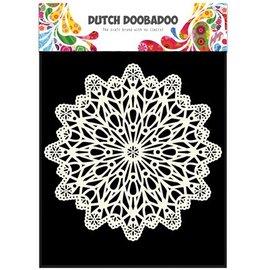 Dutch DooBaDoo Máscara Schablobe, Arte Círculo A5