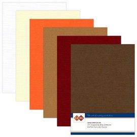 Karten und Scrapbooking Papier, Papier blöcke Linnen karton, A5 / 240 gr