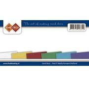 Karten und Scrapbooking Papier, Papier blöcke Leinen Karton, A5 / 240 gr