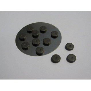 Embellishments / Verzierungen 12 mini magneet 12 mm x 2 mm
