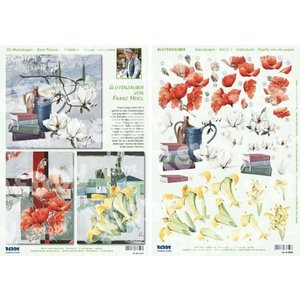 BASTELSETS / CRAFT KITS Compleet Bastelset voor 3 kaarten