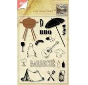 Joy!Crafts / Jeanine´s Art, Hobby Solutions Dies /  Gennemsigtig frimærker + stansning jig Grill!