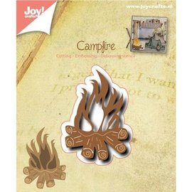 Joy!Crafts / Jeanine´s Art, Hobby Solutions Dies /  Punching and embossing template: Campfire