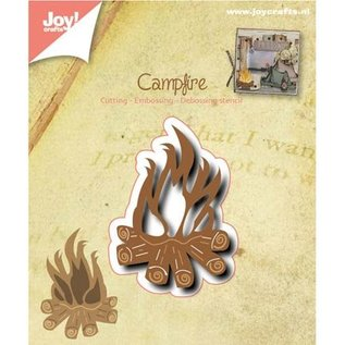 Joy!Crafts / Jeanine´s Art, Hobby Solutions Dies /  Punzonatura e modello di goffratura: Campfire