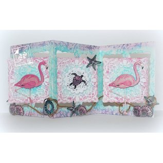 Joy!Crafts / Jeanine´s Art, Hobby Solutions Dies /  rendere le mappe mobili: stampaggio e goffratura stencil