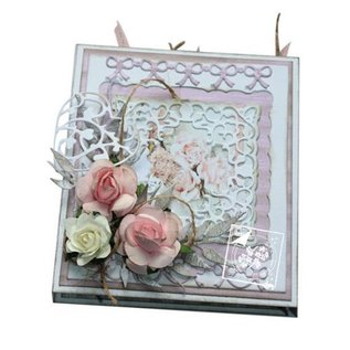 Joy!Crafts / Jeanine´s Art, Hobby Solutions Dies /  make movable maps: stamping and embossing stencil