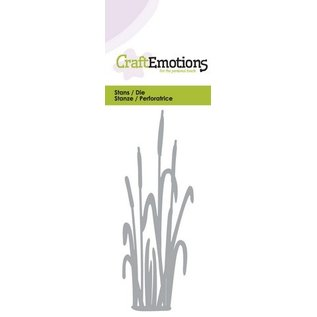 Craftemotions Punching and embossing template: Cattail