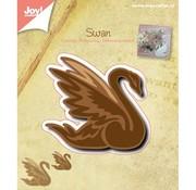 Joy!Crafts / Jeanine´s Art, Hobby Solutions Dies /  Stansning og prægning skabelon: Swan