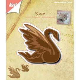 Joy!Crafts / Jeanine´s Art, Hobby Solutions Dies /  Ponsen en embossing sjabloon: Zwaan