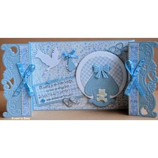Marianne Design Punching and embossing template: Cradle