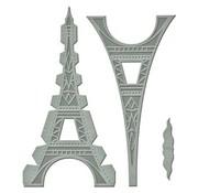 Spellbinders und Rayher Stanz- und Prägeschablone: Shapeabilities GLD-010 Le Tour Eiffel