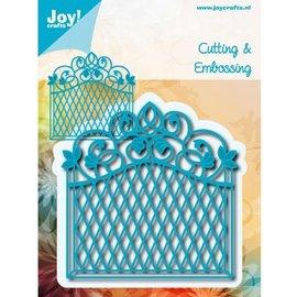 Joy!Crafts / Jeanine´s Art, Hobby Solutions Dies /  Bokse og preging mal: dekorativ ramme Vintage Goal