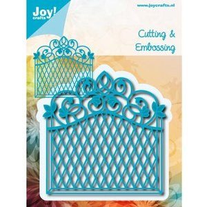 Joy!Crafts / Jeanine´s Art, Hobby Solutions Dies /  Punching and embossing template: decorative frame Vintage Goal