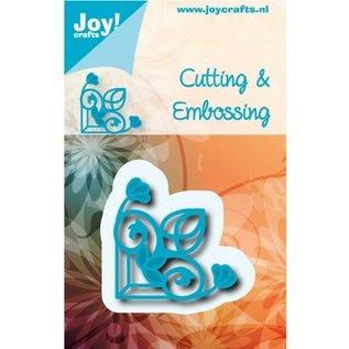 Joy!Crafts / Jeanine´s Art, Hobby Solutions Dies /  Ponsen en embossing sjabloon: Vintage Corner