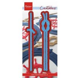 Marianne Design Bokse og preging mal: Ropes