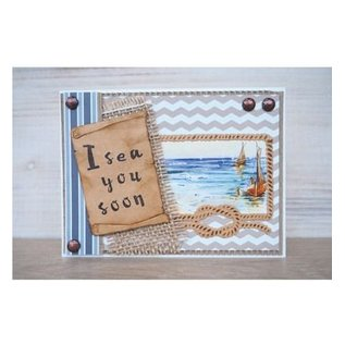 Marianne Design Punching and embossing template: Ropes