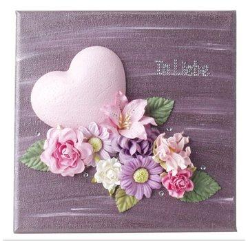 Objekten zum Dekorieren / objects for decorating cuore 9 centimetri Styrofoam