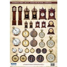 Embellishments / Verzierungen láminas troqueladas Relojes