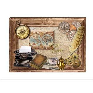 Embellishments / Verzierungen Die cut sheets Watches