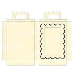 REDDY 3 gaveæsker i form af en kuffert til dine hjemmelavede kort! sidst på lager!